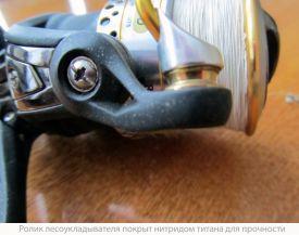 ролик лесукладывателя покрыт нитридом титана