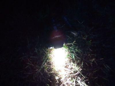 мощный луч света